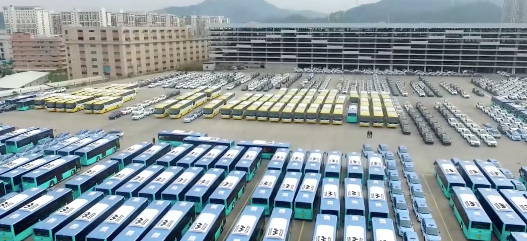 中国这个城市的电动公交车超过了美国所有大城市