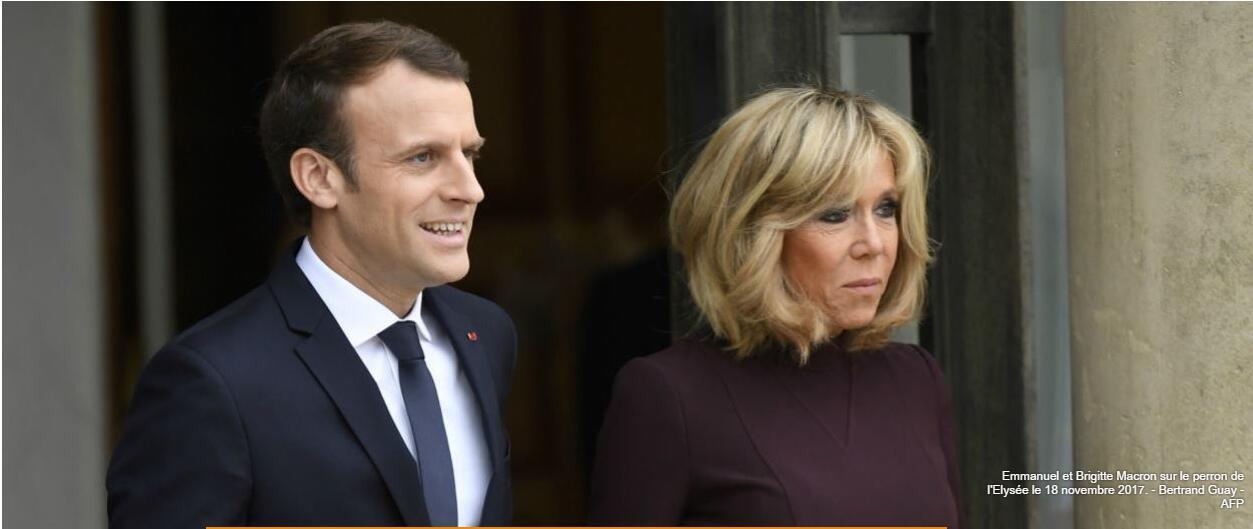 """法国""""第一夫人""""布丽吉特:期待扮演更重要角色"""