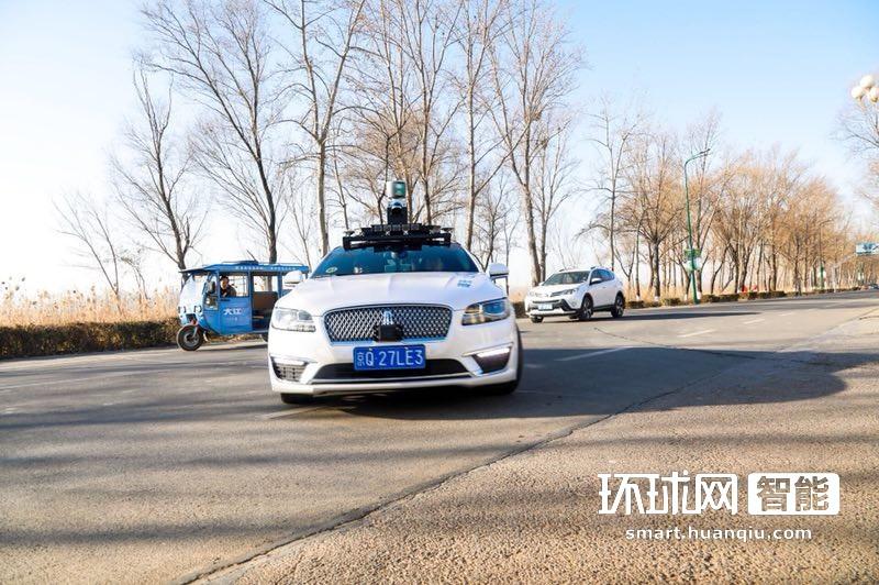 北京首条自动驾驶测试路落地亦庄 重点研究车路协同