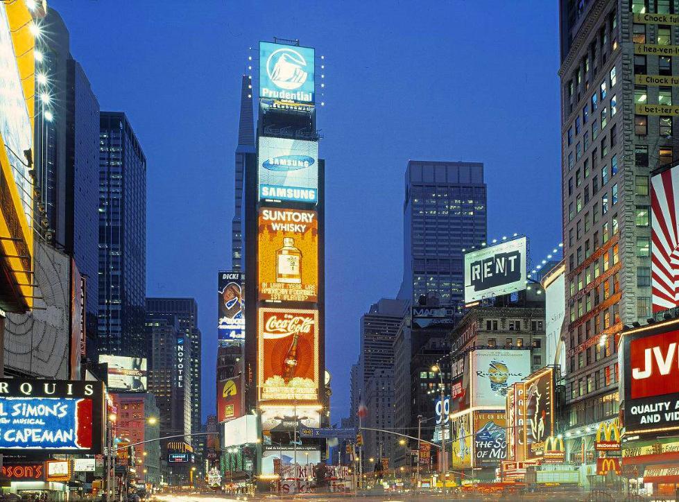 """多起恐袭之后,纽约将给时代广场装""""永久屏障"""""""