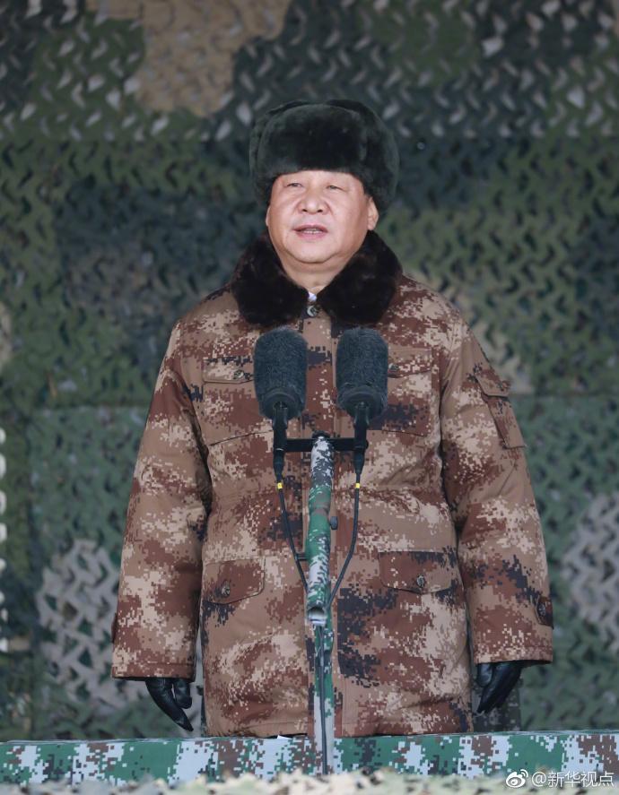 中央军委举行2018年开训动员大会 习近平向全军发布训令