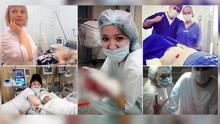 俄女护士手术中捧内脏微笑自拍 拿昏迷者玩套圈游戏