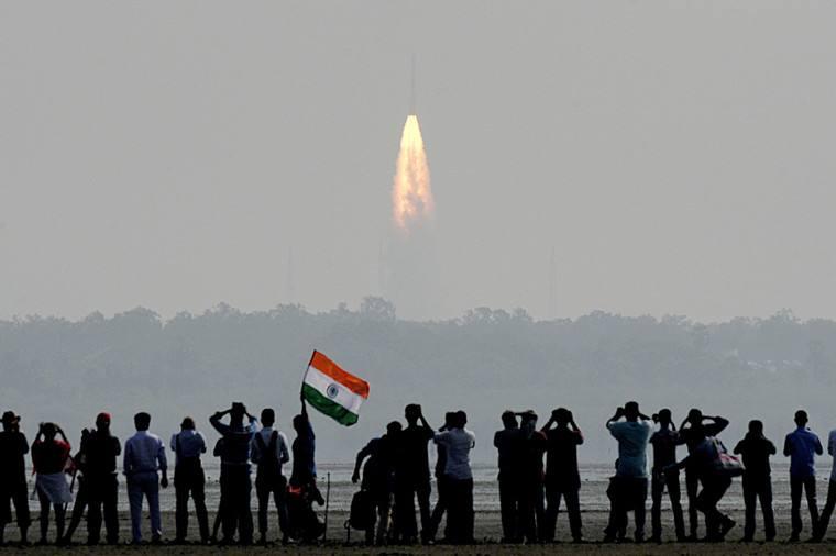 印度航天开年首发一箭31星 曾创下104星记录