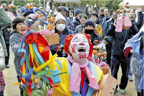 日本奇怪的祭祀之一:令人大笑不止的新年仪式