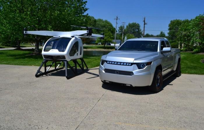 主力载客无人机可在CES上进行首次试飞