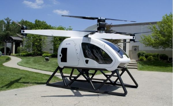 Workhorse最新获批准的载客无人机可在CES上首次试飞
