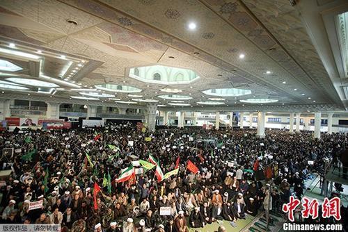 伊朗革命卫队司令:数日动乱已结束 1.5万人参加