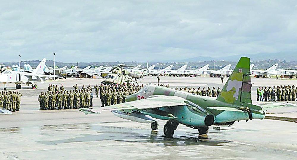 """俄承认空军基地遭炮击:7架战机被毁是""""捏造"""""""