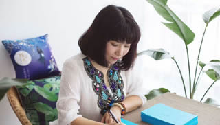 福建作家姚璎:要做有灵魂香气的女子