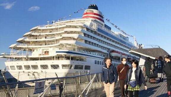 日本各港口游轮人气暴涨 吸引大量外国游客前往