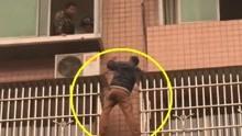 新闻红黑榜:毛贼盗窃被发现 站防盗窗进退两难