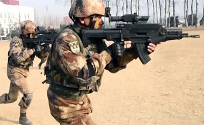 """国产""""战略大枪""""在特种兵手中显威"""