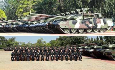 中国VT4主战坦克成最强背景板