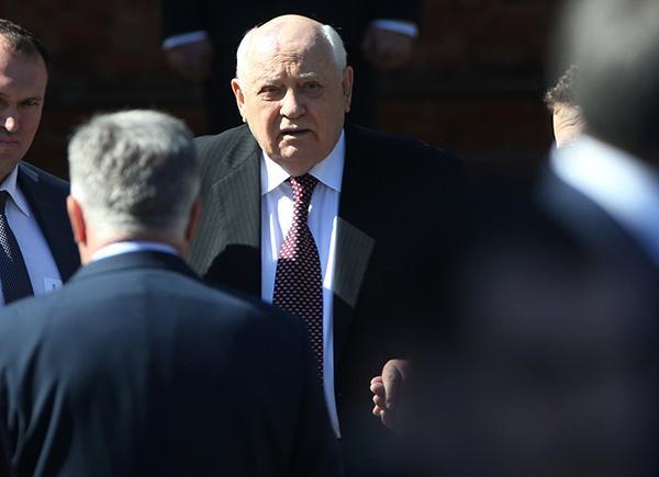 戈尔巴乔夫忧美俄核裁军共识全面瓦解,呼吁两国首脑出手解决