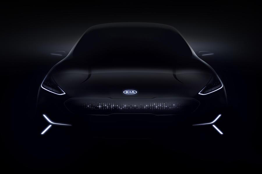 起亚Niro电动概念车预告图发布 将亮相CES展