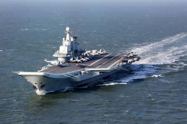 辽宁舰新年首航引发猜想 训练新航母舰员?