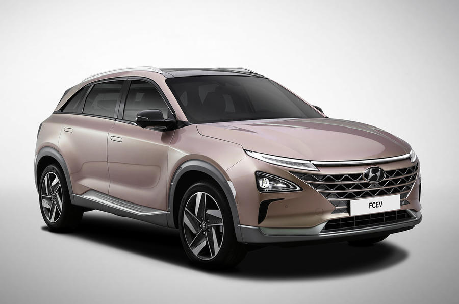 现代新一代氢燃料电池车预告发布CES首秀