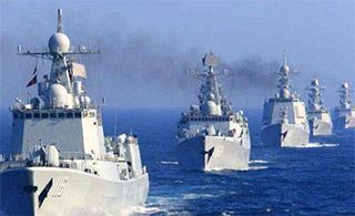 大国海军!中国速度!去年服役这么多新军舰