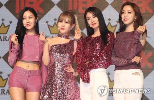 T-ara原经纪公司申请商标权 组合或被迫更名