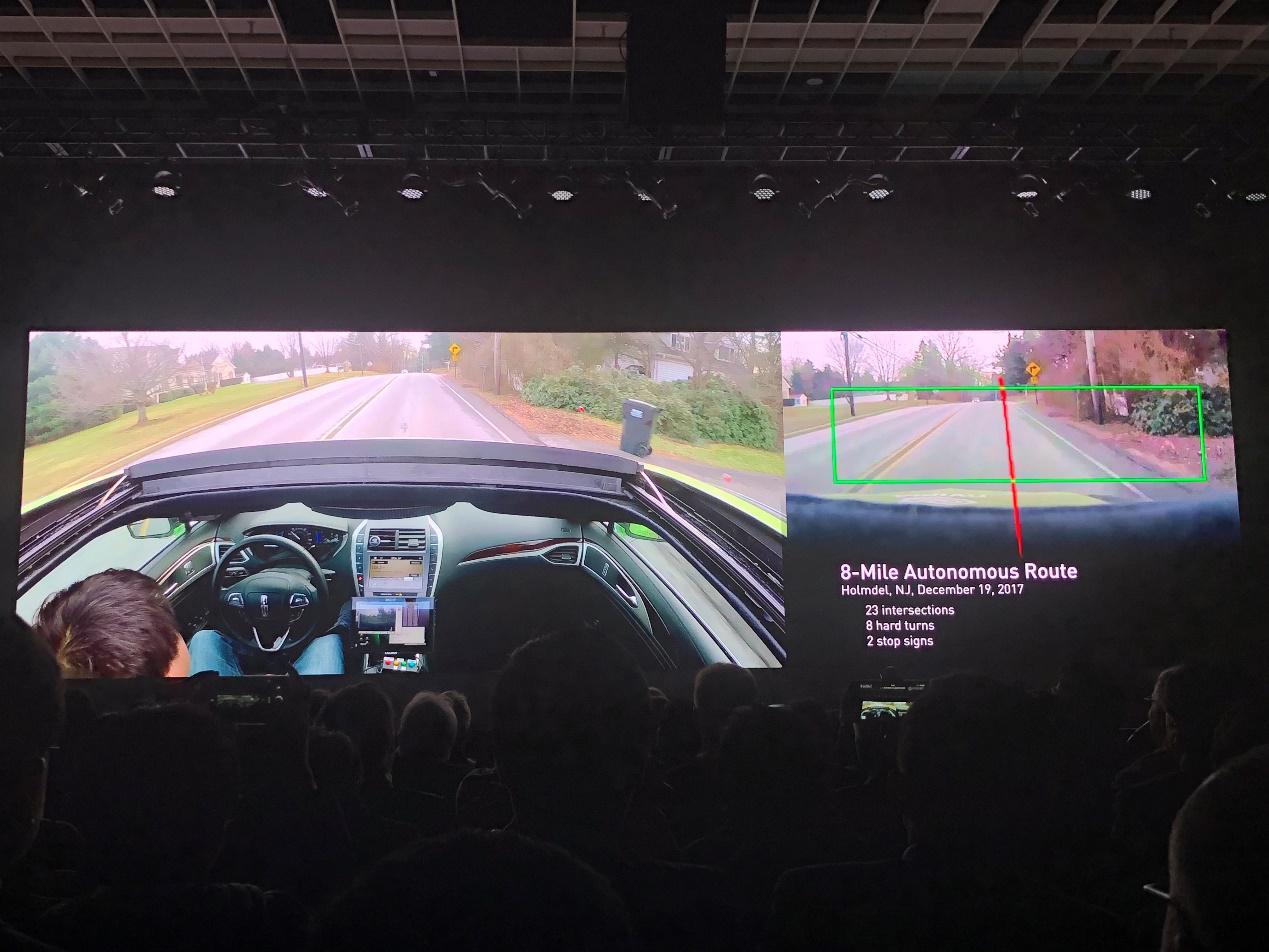 CES2018:英伟达推出无人车AI芯片 与百度达成合作