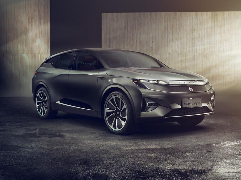 CES2018:拜腾首款概念车亮相 可刷脸开门