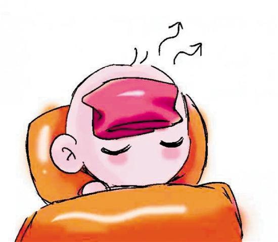 """13个月的宝宝高烧39.8℃ 不是感冒而是""""幼儿急疹"""""""