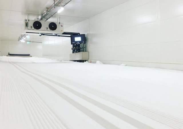 全世界最长的滑雪隧道开放了 以前竟是军事设施