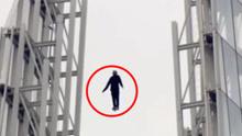 男子称有超能力 能自由悬浮高空不借助任何东西