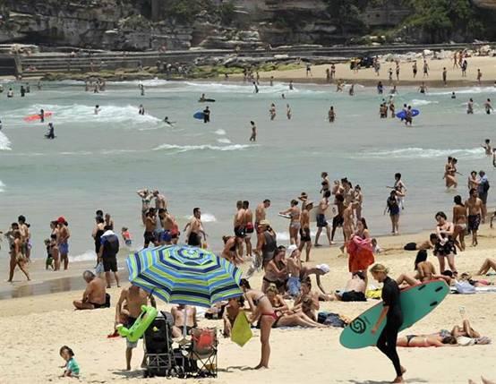 冰火两重天!澳大利亚悉尼高温创80年最高纪录