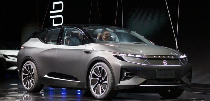 CES2018:拜腾首款概念车发布 或2019年量产