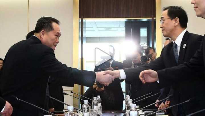 韩朝同意举行军事等高层会谈,缓解边界局势改善关系