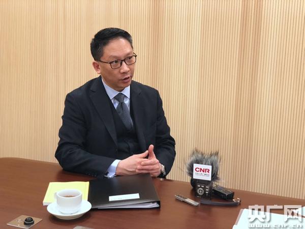"""香港特区前律政司司长袁国强:""""一带一路""""建设香港可承担特别角色"""