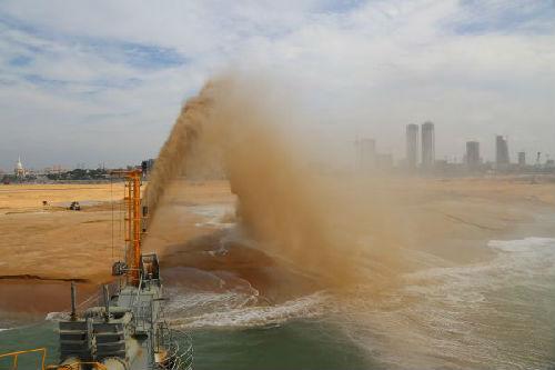 俄媒:中国交建将在斯里兰卡港口城建金融中心