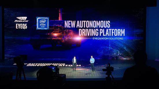 英特尔宣布新自动驾驶平台 整合处理器和视觉芯片
