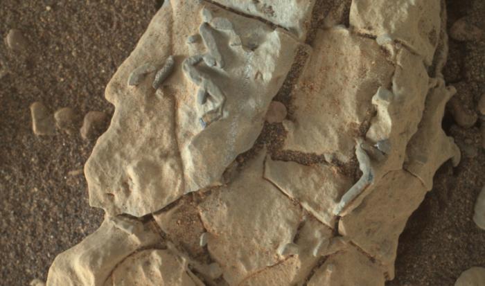NASA好奇号探测器是否找到古老的火星化石?