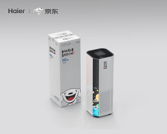 海尔推出京东定制Joy版空气净化器