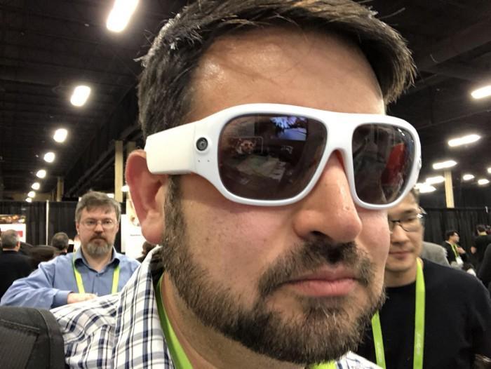 全球首款360度摄像眼镜发布 拥有4个1080p摄像头
