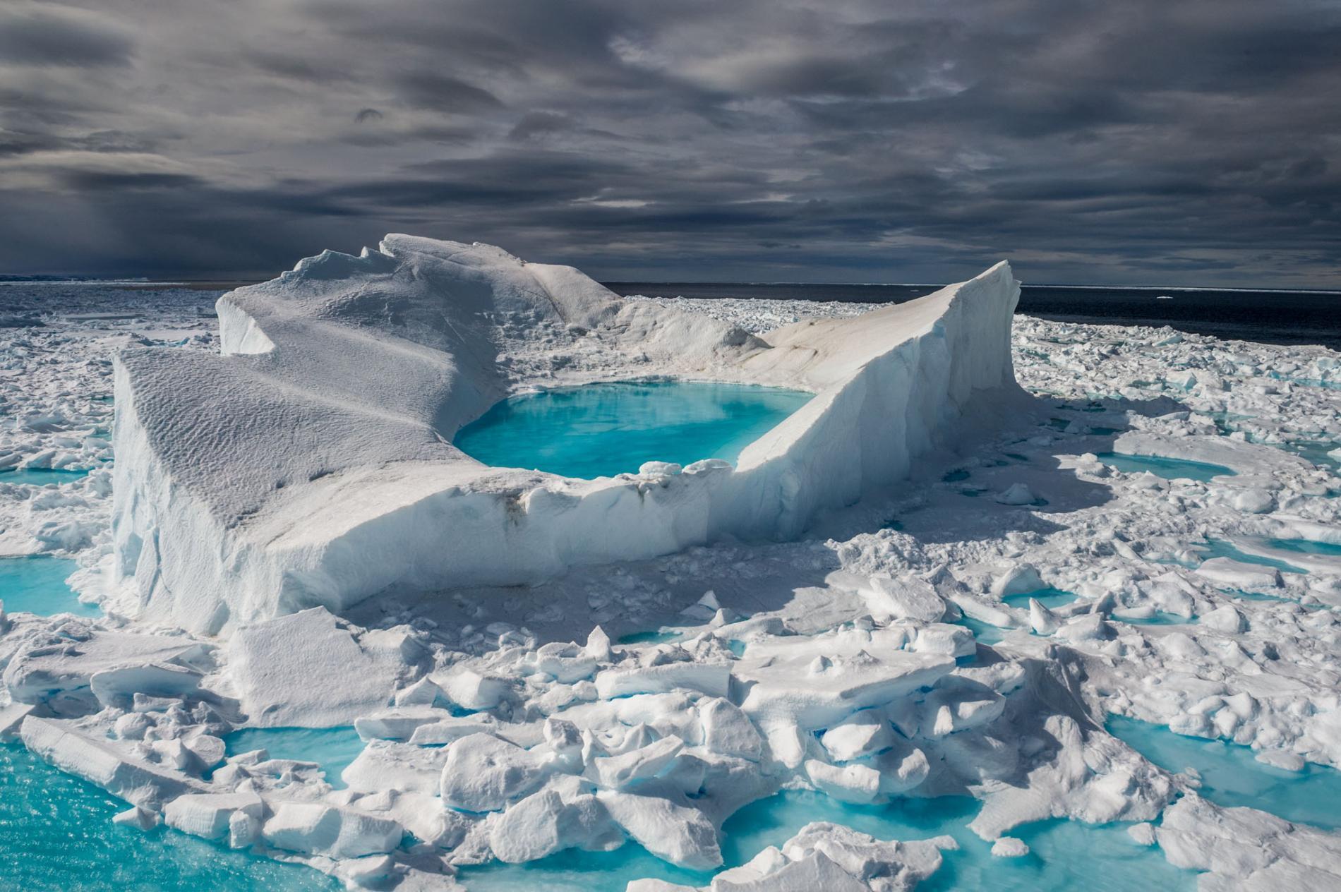 """太阳像打火机 北极融化 动物将被挤到""""小角落""""?"""