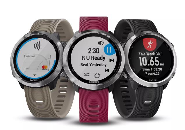 Garmin推先行者GPS智能手表 增加音乐和支付能力