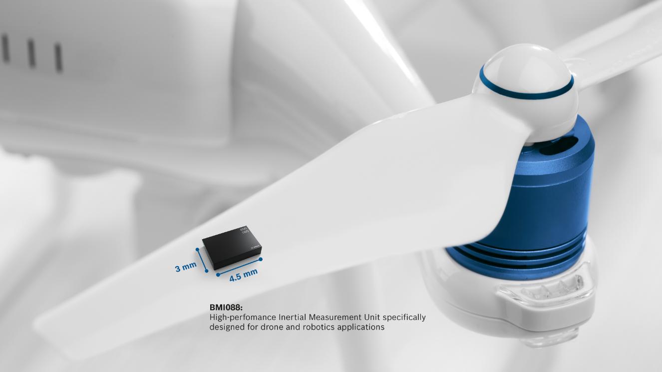 博世在2018CES上推出用于无人机和机器人应用的高性能IMU