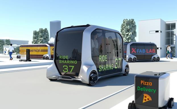 丰田发布无人驾驶概念车e-Palette 涉足移动服务领域