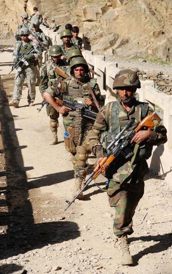 中国资助阿富汗建军事基地反恐?美媒有些担忧