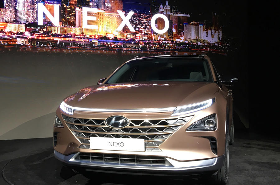 新能源旗舰 现代全新Nexo燃料电池车亮相CES