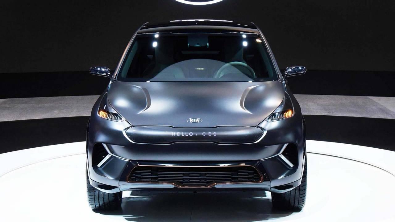 起亚Niro电动概念车亮相CES  智能新技术前瞻