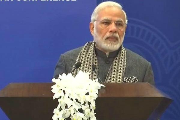 """莫迪称""""印度不觊觎别国领土"""" 印媒:暗讽中国"""