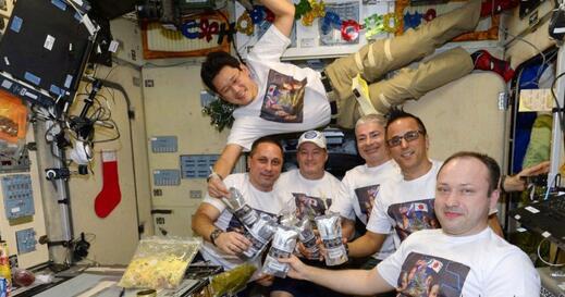失重效果?日本宇航员在太空三周长高2厘米 曾自称长高9厘米