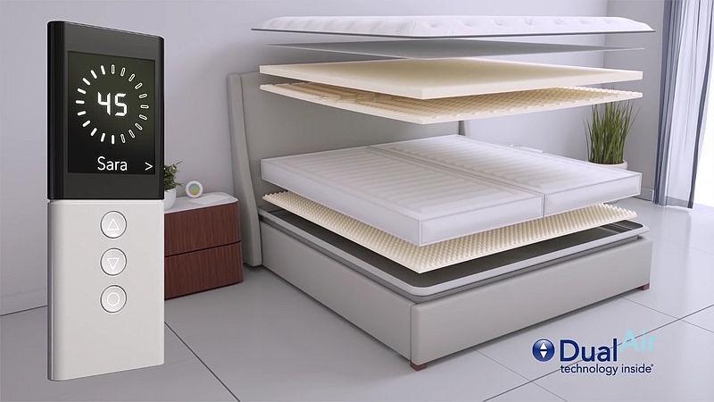 CES2018:全自动智能床亮相 可自动调节防打鼾