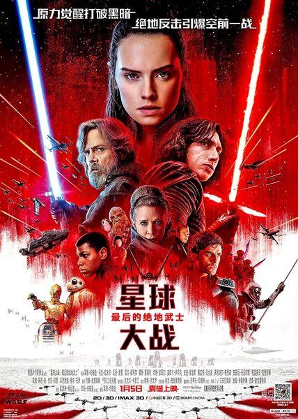 《星球大战:最后的绝地武士》在华票房低迷,美国影评人这么说