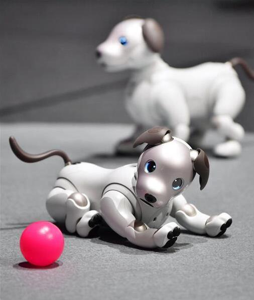 CES2018:索尼欲将新型电子狗Aibo推向海外