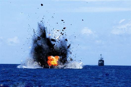 印尼副总统促渔业部停止炸毁外国渔船:够了,这有损外交关系!